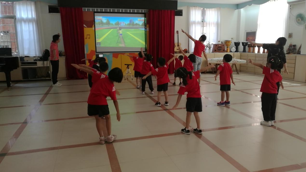 AR体感教育,帮助提高幼儿身体素质