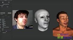 Kinect表情捕捉设备可实时模仿面部表情