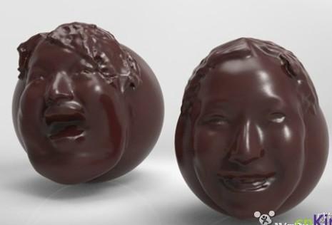 真人外貌订制 日本推出3D打印巧克力