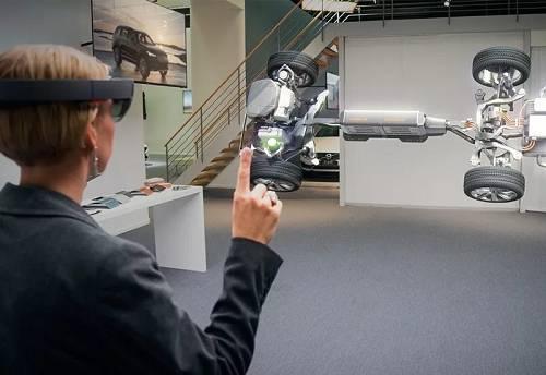AR技术+体感技术+全息技术,等于HoloLens