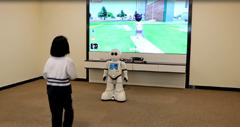 AR体感教育机器人